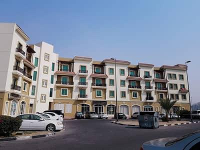 استوديو  للايجار في المدينة العالمية، دبي - انترناشونال سيتي يوناني ستوديو كلاستر مع شرفة شقة متاحة للإيجار في 21000