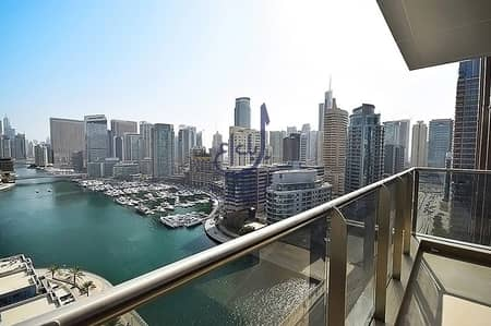 1 Bedroom Apartment for Rent in Dubai Marina, Dubai - LUXURY Furnished Brand New Apartment | Full Marina View
