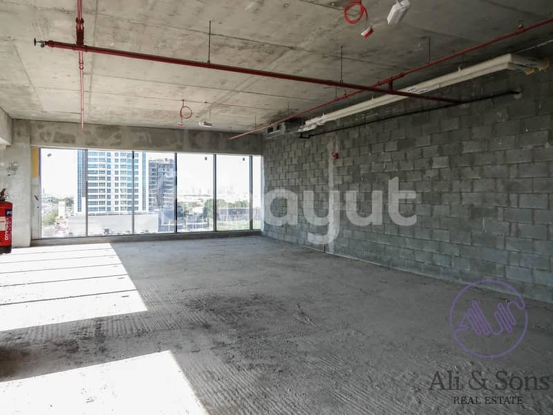 2 Affordable shell and core office space for rent