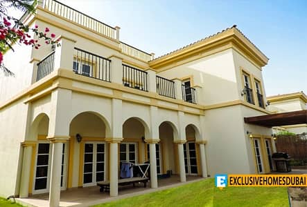 4 Bedroom Villa for Sale in The Villa, Dubai - Corner | Cordoba 4BR Study | Park View | Garden