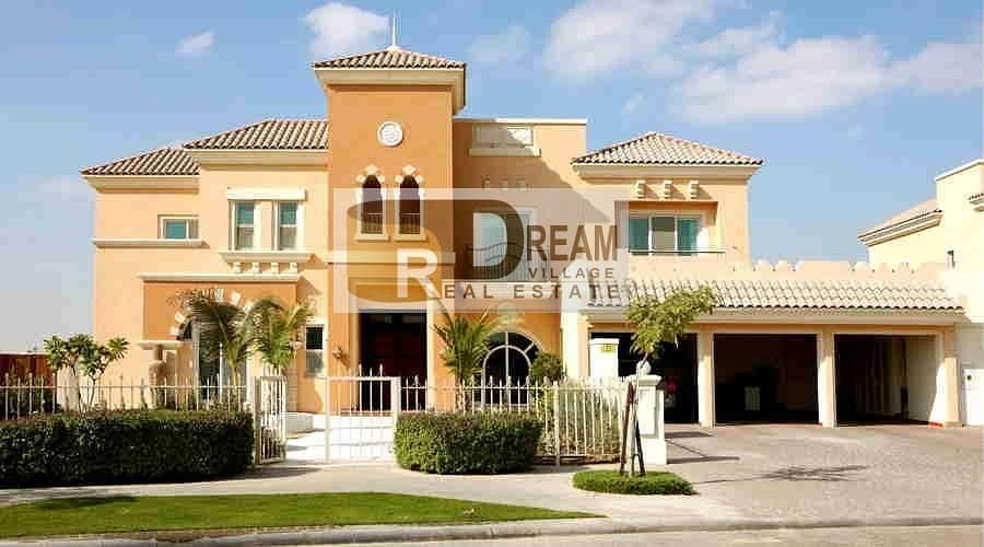 I own a 4-BR villa in 14% down payment and installment over 7 years without DLD