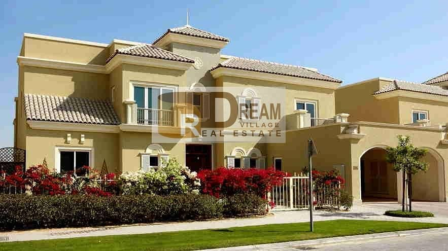 2 I own a 4-BR villa in 14% down payment and installment over 7 years without DLD