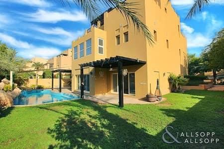 فیلا 5 غرفة نوم للايجار في المرابع العربية، دبي - 5 Bed   3 Storey   Pool   Price Negotiable