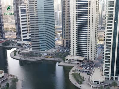 فلیٹ 2 غرفة نوم للايجار في أبراج بحيرات الجميرا، دبي - Vacant Full Lake View 2 Bedroom on High Floor