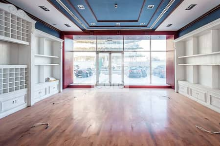 Shop for Rent in Dubai Media City, Dubai - Ground Floor   Fitted Retail   AC Included