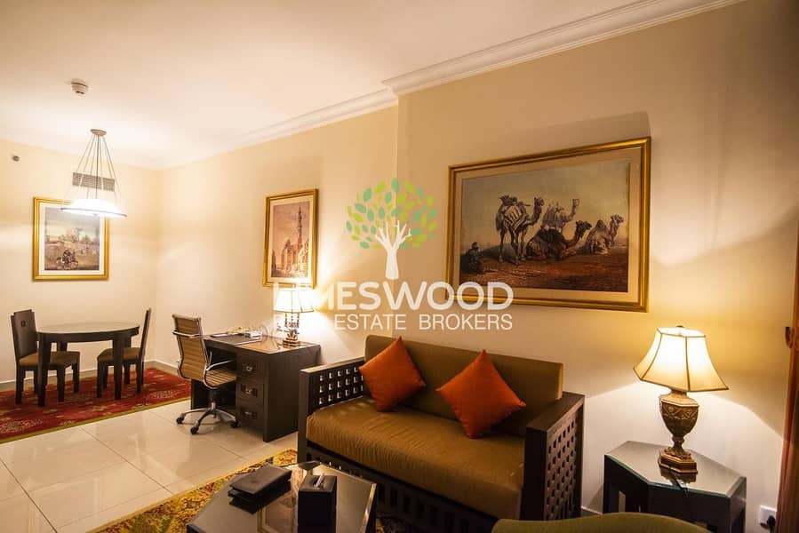 2 Spacious 1 br hotel apartment in Barsha Heights