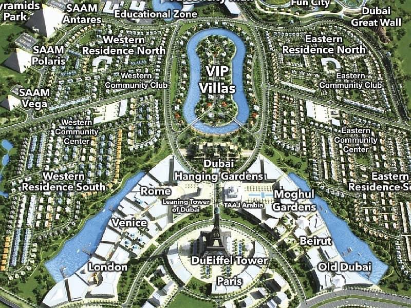 9 G+60 | Land Mixed Use | Falcon City of Wonders