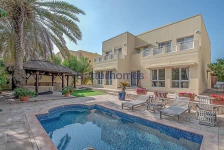 فیلا 5 غرف نوم للبيع في السهول، دبي - Exclusive | 5 bed | Private Pool | Upgraded Villa