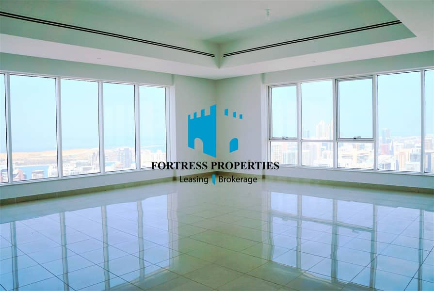 MAGNANIMOUS 3BHK IN THE CENTER OF THE CITY WITH MARVELOUS VIEW OF THE SKYLINE AND THE SEA !!!
