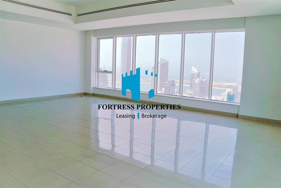 2 MAGNANIMOUS 3BHK IN THE CENTER OF THE CITY WITH MARVELOUS VIEW OF THE SKYLINE AND THE SEA !!!