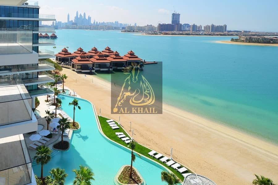 2 Upscale Beachfront 3BR Penthouse for sale in Palm Jumeirah with Easy Payment Plan | Burj Al Arab Views