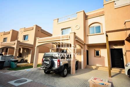 فیلا 5 غرف نوم للبيع في الريف، أبوظبي - فیلا في فلل الريف - طراز البحر المتوسط فلل الريف الريف 5 غرف 2000000 درهم - 4429844