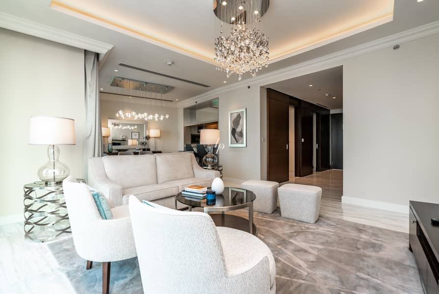 2 Impeccable 4-Bed Duplex|Burj & Fountain view