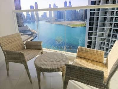 استوديو  للايجار في الخليج التجاري، دبي - Brand New | Canal View | Furnished | High Floor