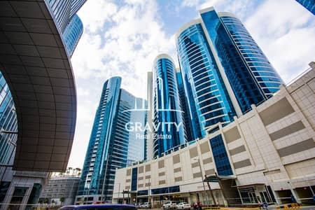 1 Bedroom Flat for Rent in Al Reem Island, Abu Dhabi - High floor 1br apartment 4 payments