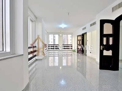 فلیٹ 3 غرفة نوم للايجار في منطقة النادي السياحي، أبوظبي - Amazingly Organized 3BR Apartment +M