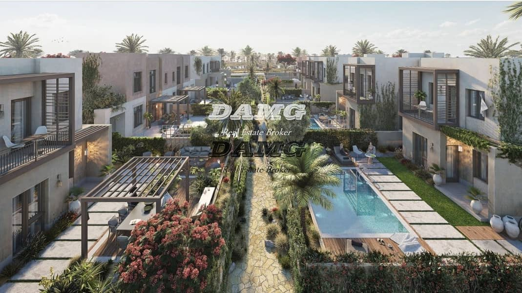 2 Brand new villa in ghantoot with 6 years payment plan