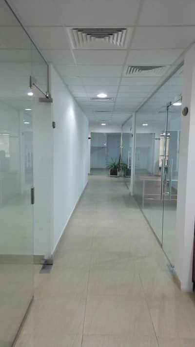 Office for Rent in Tourist Club Area (TCA), Abu Dhabi - Exposed and Affordable Fitted  Office