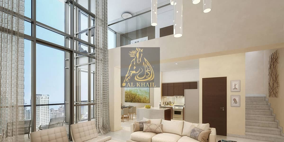 Amazing 3BR Penthouse for sale in Downtown Dubai | Burj Khalifa Views | Easy Payment Plan with Post Handover