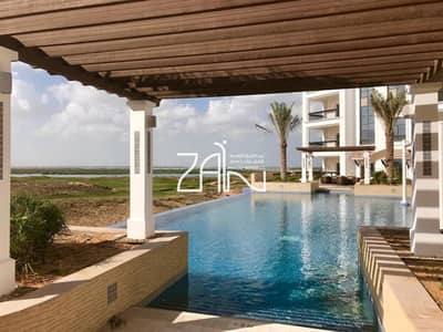 2 Bedroom Apartment for Rent in Yas Island, Abu Dhabi - Hot Deal! Fully Furnished 2 BR Apt with Balcony