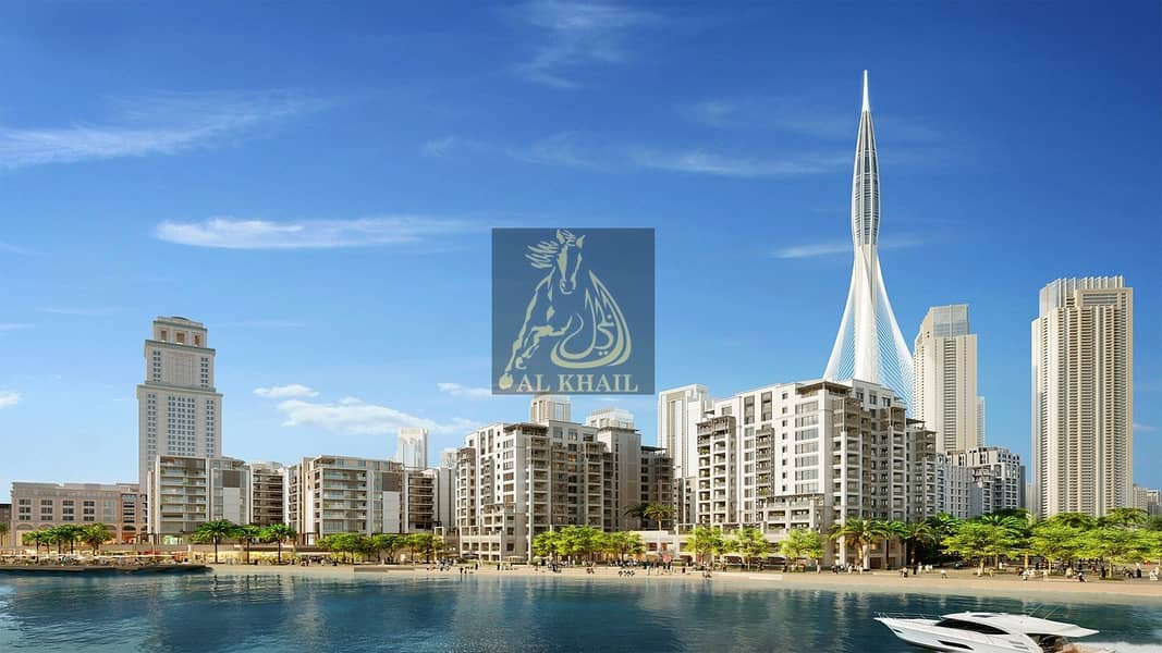 12 Grandeur 4BR Penthouse for sale in Dubai Creek Harbour | Direct Beach Access | Waterfront with Scenic Views