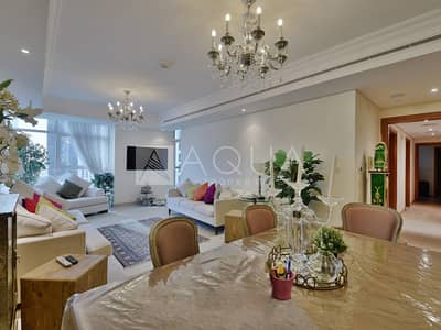 فلیٹ 2 غرفة نوم للايجار في أبراج بحيرات الجميرا، دبي - Corner Unit | Amazing Layout | Maid Room