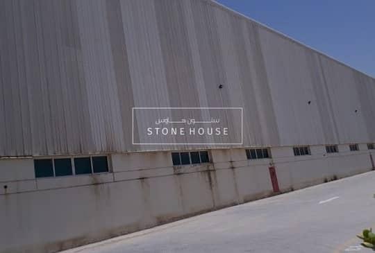 2 Jafza South Logistic Warehouse 96000 BUA Ready