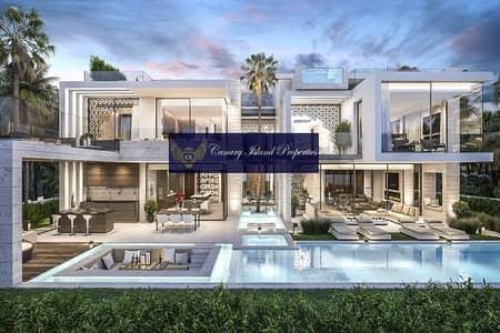 6 Bedroom Villa for Sale in Palm Jumeirah, Dubai - Upgraded | Furnished | Beachfront Signature Villa