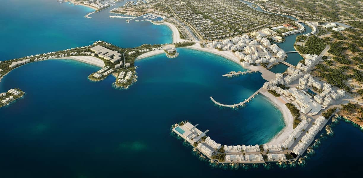 8 Villas for sale in the most beautiful place in Abu Dhabi (nature reserve) and premiums me for 8 years