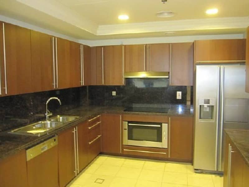 10 3 Bed + Maids with Pool View  Apt. For Rent