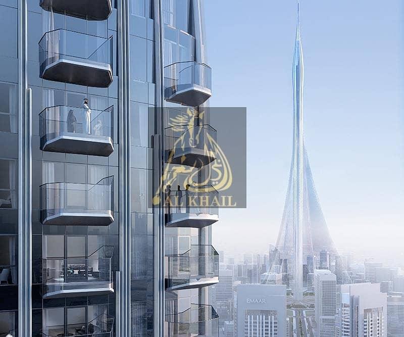 Superb Waterfront 3BR Penthouse for sale in Dubai Creek Harbour | 3 Years Post Handover | Iconic Burj Khalifa Views!