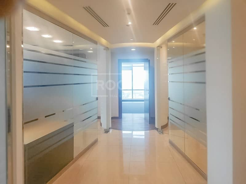 2 Fitted with Partition Corner Office | LIwa Heights | JLT