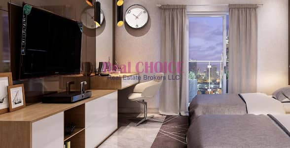 2 Bedroom Apartment for Sale in Al Furjan, Dubai - Amazing View Of The Pool|Large 2BR Apartment