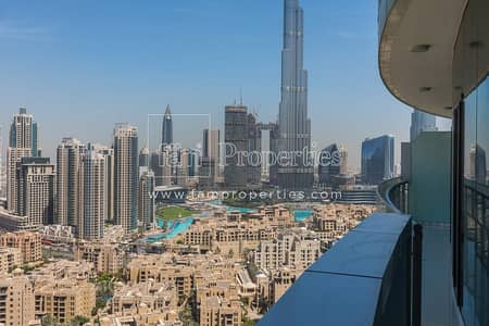 Burj khalifa view   Spacious unit