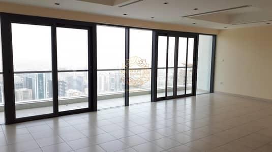 فلیٹ 3 غرف نوم للايجار في الممزر، الشارقة - Luxury Chiller Free 3BR All Master with Gym Pool 75k