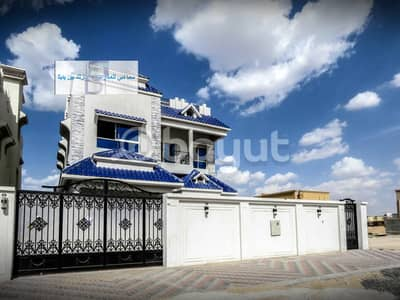 6 Bedroom Villa for Sale in Al Mowaihat, Ajman - Villa for sale at a very attractive price, personal finishing for owners of luxury and high-end