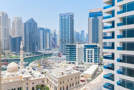 فلیٹ 1 غرفة نوم للبيع في دبي مارينا، دبي - Cheapest 1 bhk apt at Manchester Tower