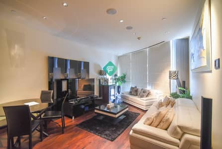 1 Bedroom Flat for Rent in Downtown Dubai, Dubai - Beautiful Fountain View |Furnished|1 Lift