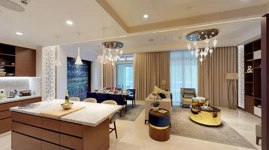 Luxurious Brand New  2 Bed very spacious with Fantastic Views of the Burj  Khalifa