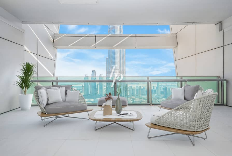 2 Brand New|Duplex Penthouse|Luxurious Terrace
