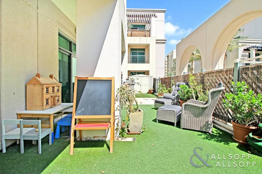 Terraced Garden | Quiet Location | 2 Bed