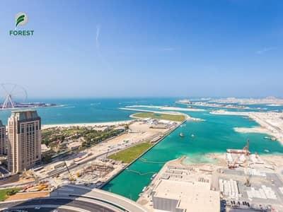 شقة 3 غرف نوم للايجار في دبي مارينا، دبي - 3 Bedroom with Sea View well maintained Unfurnished