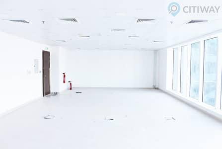 مکتب  للايجار في الخليج التجاري، دبي - Fully Fitted | Higher Floor Office for Rent