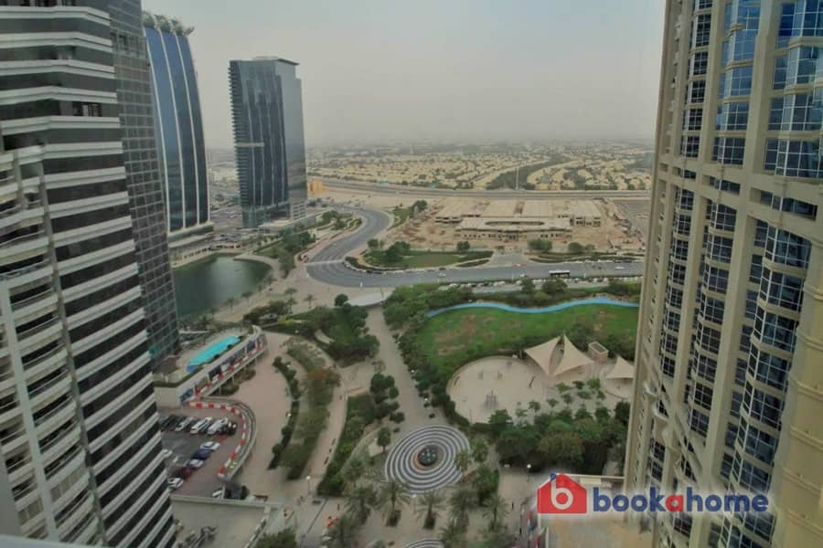 Corporate Guest for Saba Tower 2 JLT a cozy studio available  on  15th Jan 2020