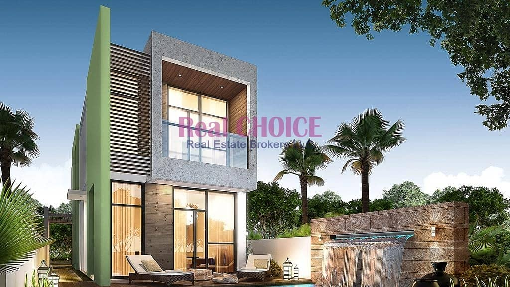 3BR VILLA IN HEART OF DUBAI LAND !!  DUBAI FIRST RAIN FOREST COMMUNITY