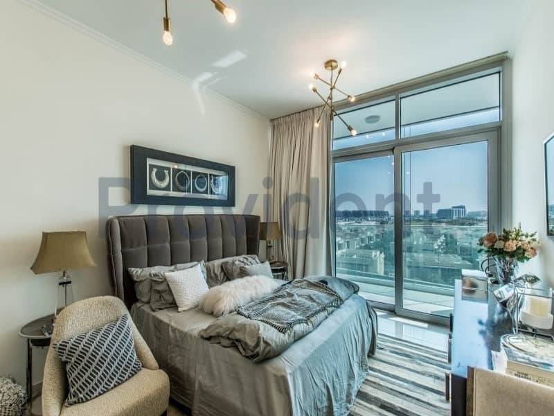 Own a Studio in Damac Hills with Golf Course View