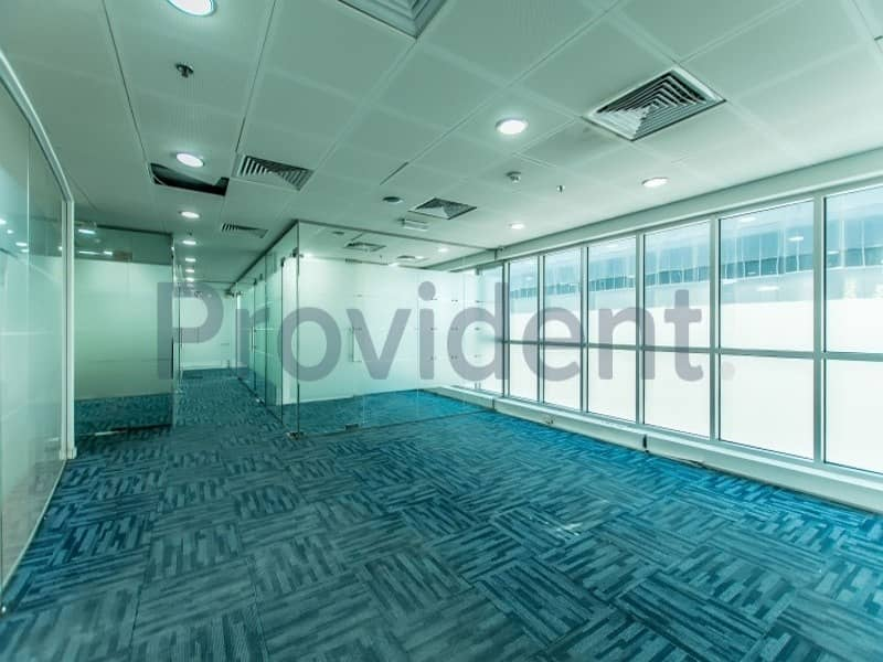 Ready to Move in | Floor to Ceiling Window Office