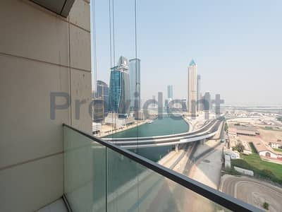 فلیٹ 1 غرفة نوم للايجار في الخليج التجاري، دبي - Modern Finishing and Stunning Canal view