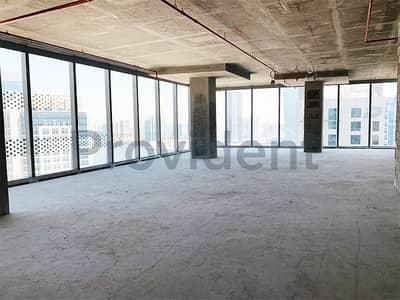 طابق تجاري  للبيع في الخليج التجاري، دبي - Half Floor Shell and Core Office|The Opus