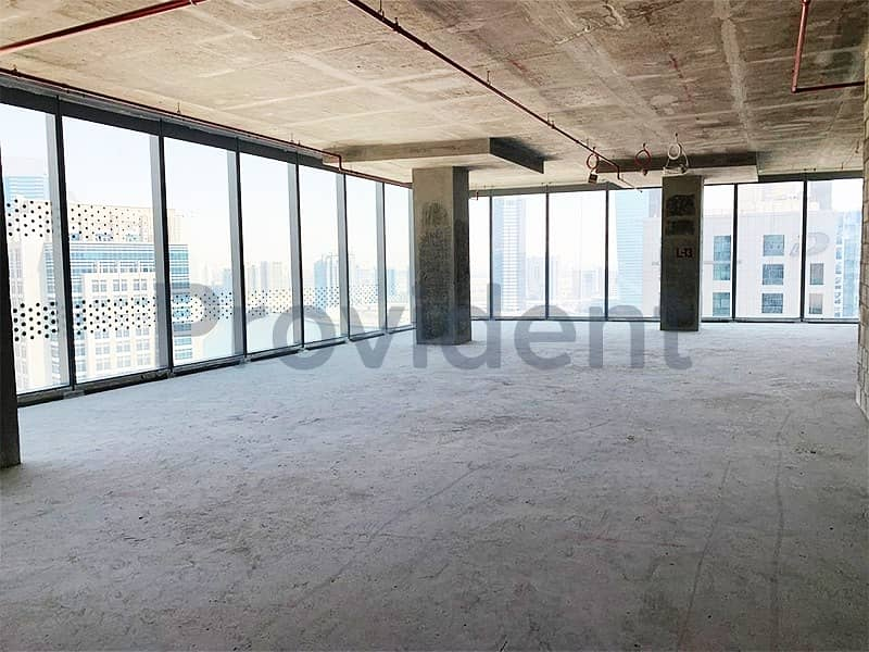 2 Half Floor | Shell and Core Office Space